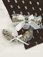 Camouflage Wedding Garter