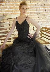 Zena Black Wedding Dress
