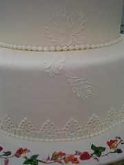 Fall Autumn Wedding Cake