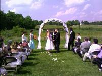 Wedding Arch Reception Decorations