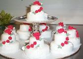 Individual Wedding Cake